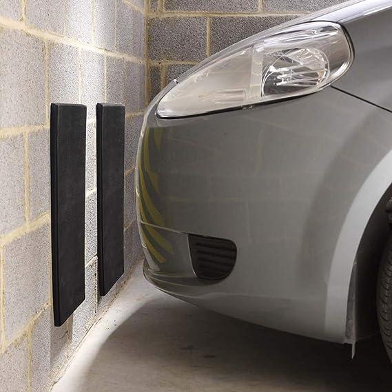 Faburo 6pcs Protector de Garaje Coche ,40 x 12 x 1.5cm Protector de Puerta Autoadhesivo Esponja resistente a los Ara/ñazos para Garaje