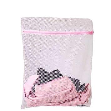 *UK Seller* 4 Sizes Zipped Mesh Underwear Socks Washing Bra Clothes Laundry Bags