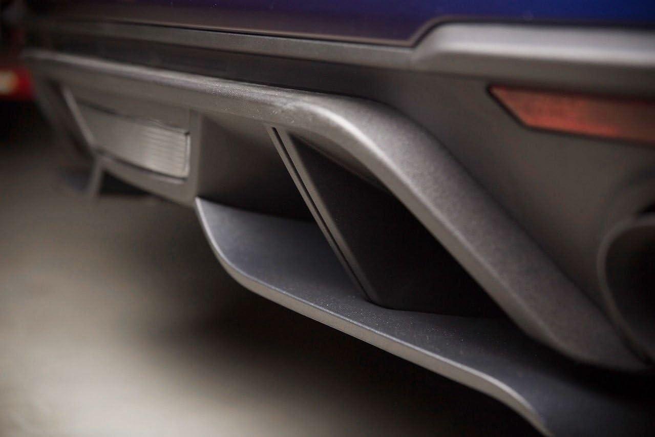 Yates Performance ROUSH Rear Bumper Valence Aero Foil Black 422085 2018-2020 Mustang GT