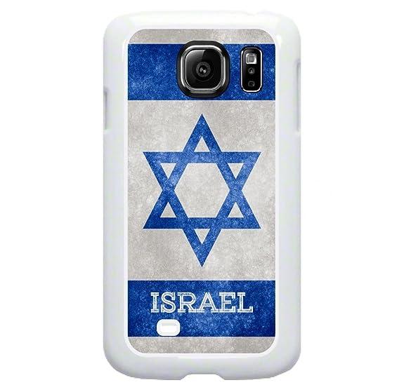 Amazon Israel Grunge Flag Tm Samsung Galaxy S7 Edge White