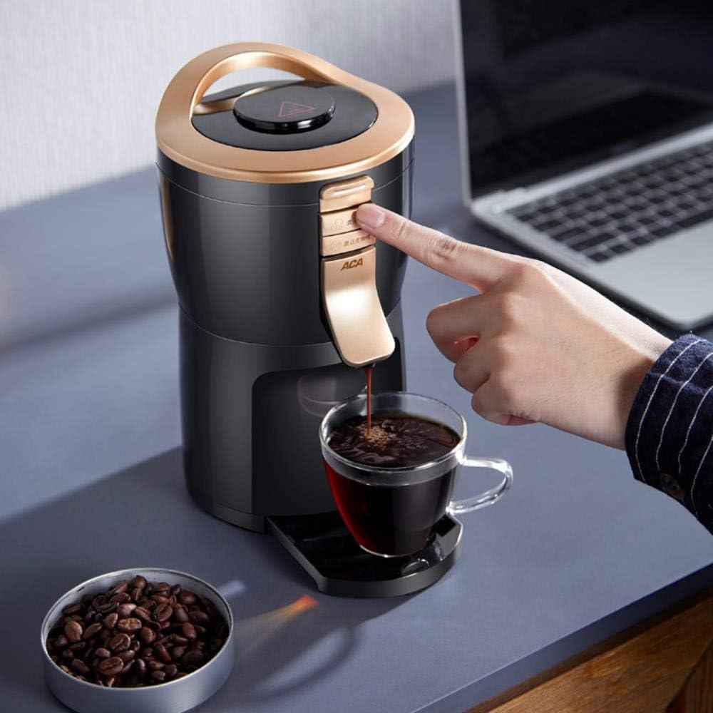 LinZX Vollautomatische Kaffeemaschine-Maschine Grinder Haushalt bewegliche kleine Schleifen Kaffee Tee Bohnenpulver