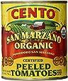 Cento San Marzano Organic Peeled Tomatoes, 28 Ounce (Pack of 6)