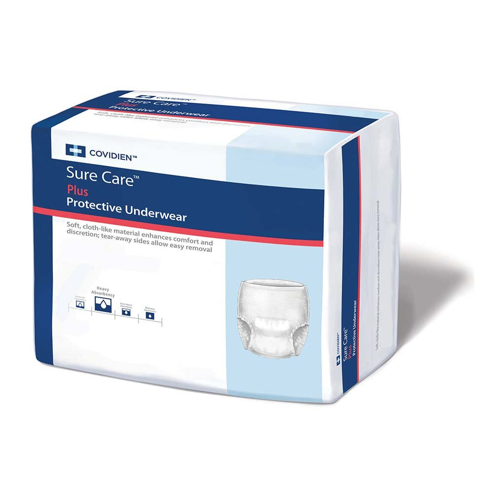 MCK16153100 - Adult Absorbent Underwear Sure Care Pull On Large Disposable Heavy Absorbency