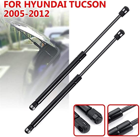 NO LOGO FJY-Printemps 2pcs Voiture Lunette arri/ère en Verre Ressort /à gaz Shock Lift Strut Struts Barre de Support Rod for Hyundai Tucson 2005 2006 2007 2008 2009 /à 2012 Couleur : 1Set 4Pcs