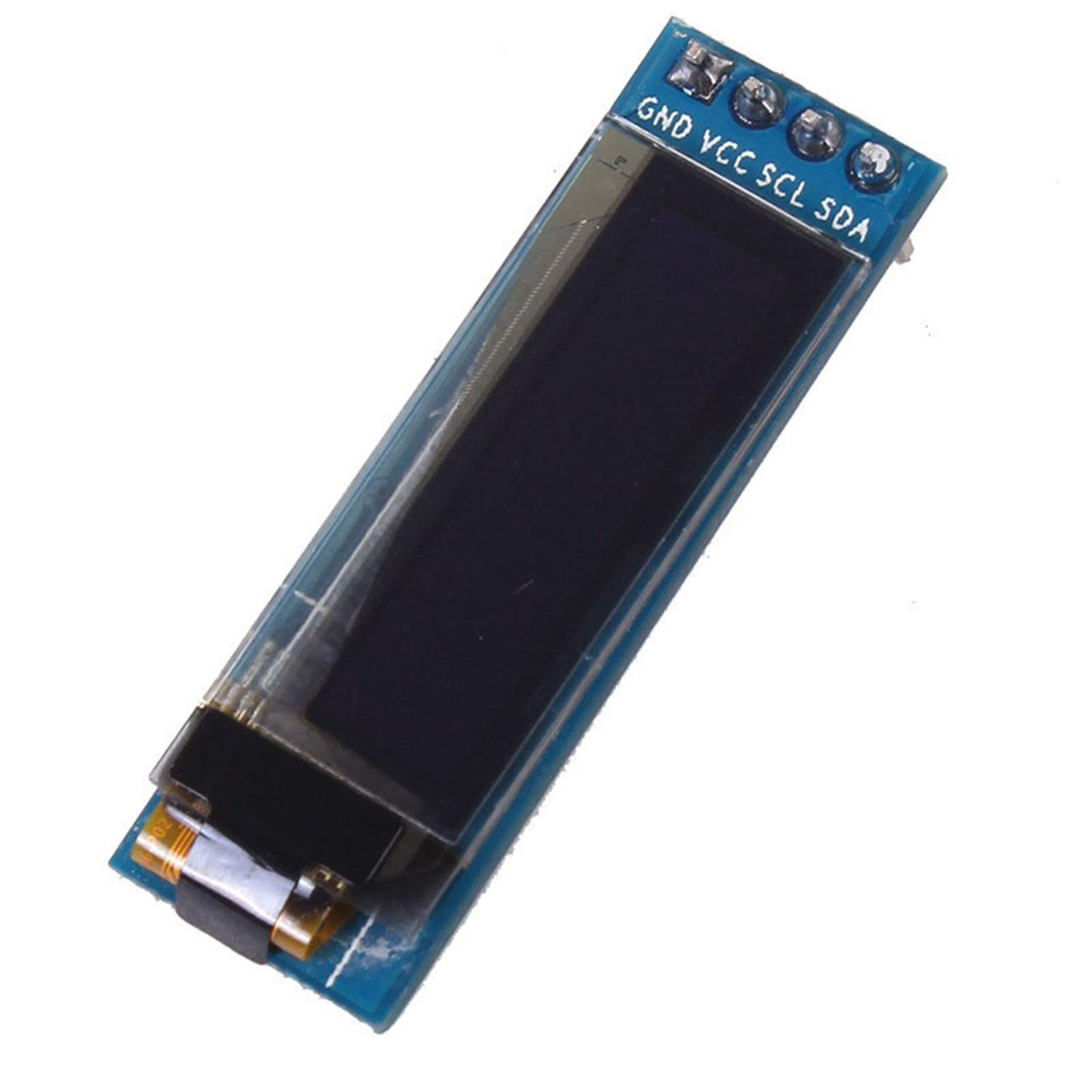 "IIC I2C 0.91/"" 128x32 white OLED LCD Display Module 3.3v 5v For Arduino PIC"