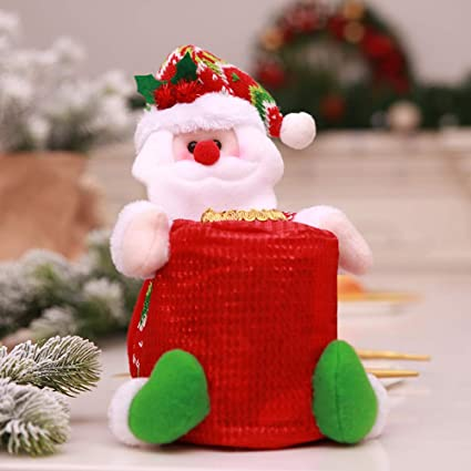 Sj Long T Raputa Christmas Tissue Box Christmas Table Decoration Decoration For Family Parties Offices Bars Tissue Pumping Santa Claus