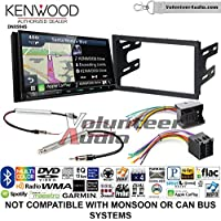Volunteer Audio Kenwood Excelon DNX994S Double Din Radio Install Kit with GPS Navigation Apple CarPlay Android Auto Fits 2002 Volkswagen Golf, 2002 Jetta, 2002 Passat