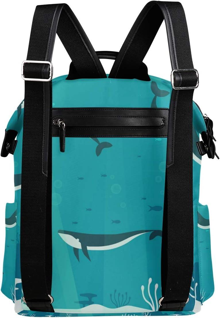 MONTOJ Sharks Travel Backpack Campus Backpack