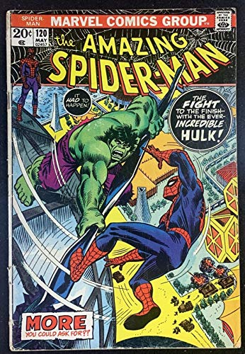 Amazing Spider-Man (1963) #120 GD+ (2.5) Hulk Battle Cover
