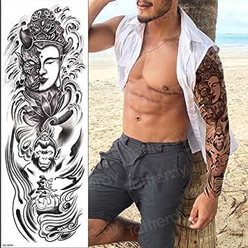 4 Unidades, Hombres Temporales, Tatuajes, Manga Larga, Brazo ...