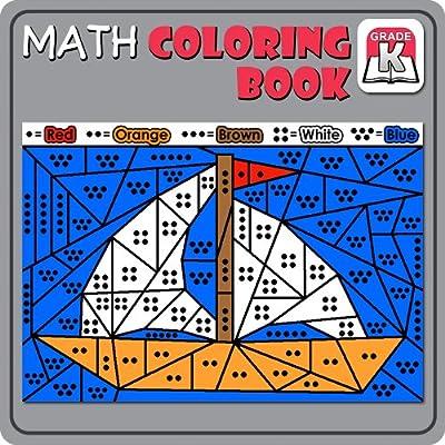 Math Coloring Book:Kindergarten [Download]