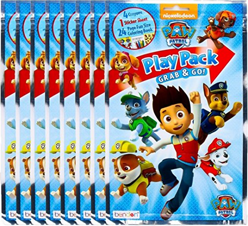BashBox Paw Patrol Play Pack Grab & Go Children's Coloring &