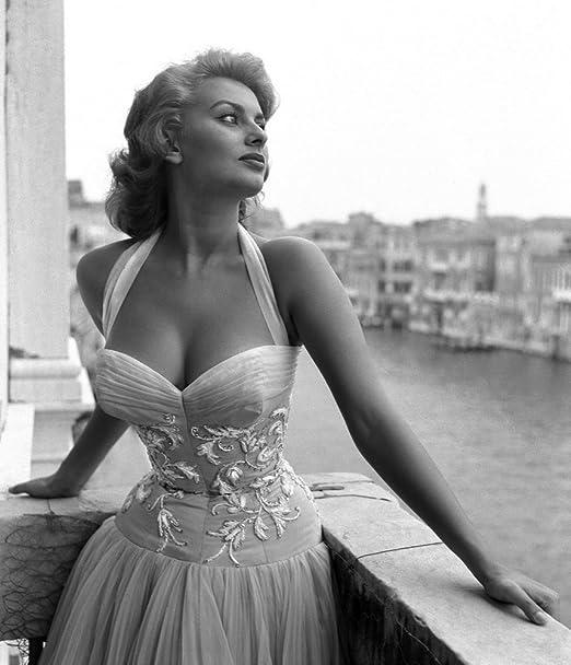 1 Sophia Loren Photography Giclee High Glossy Photo Paper Print Poster