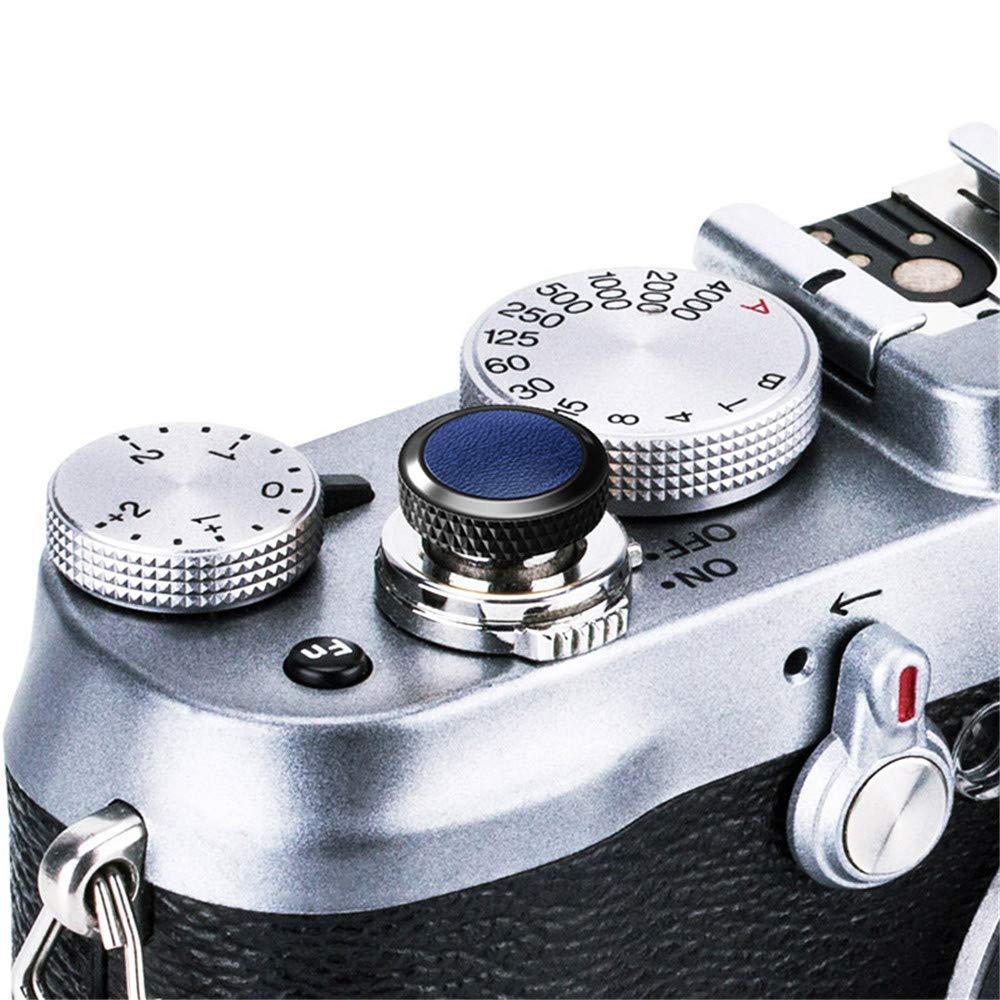 JJC Compatible Soft Shutter Release Button Cap for Fuji Fujifilm X-T3 XT3 X100F X-Pro2 X-Pro1 X-T2 X-E3 X-E2S X-T20 X-T10 X100T X100S X30 for Sony RX10 IV, RX10 III II, RX10, RX1R II, RX1 R, RX1 / B Blue Jinjiacheng Photography Equipment Co. Ltd.