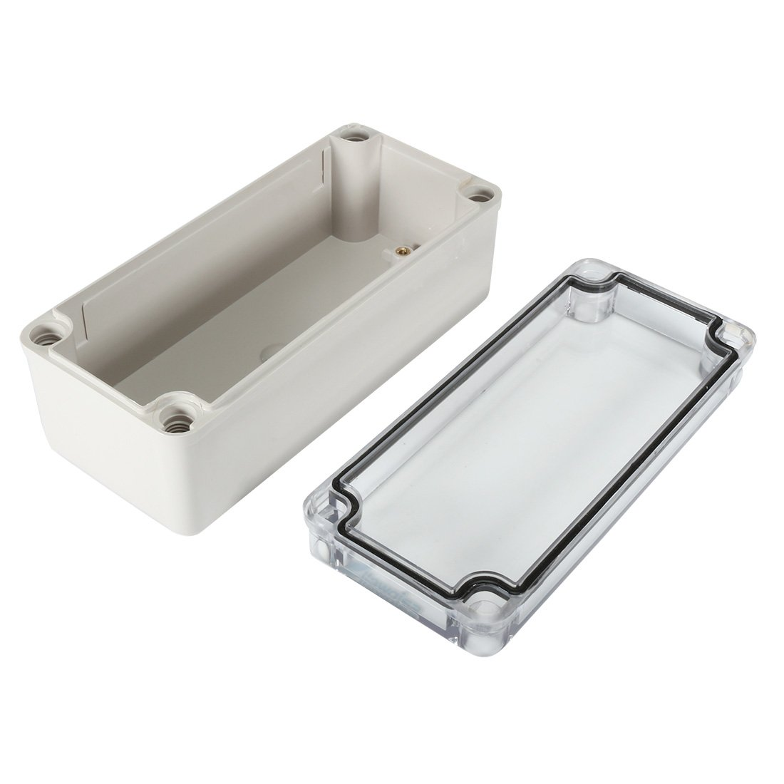 uxcell/® Outdoor Electrical Enclosure Dustproof IP65 Junction Boxes 115x90x55mm