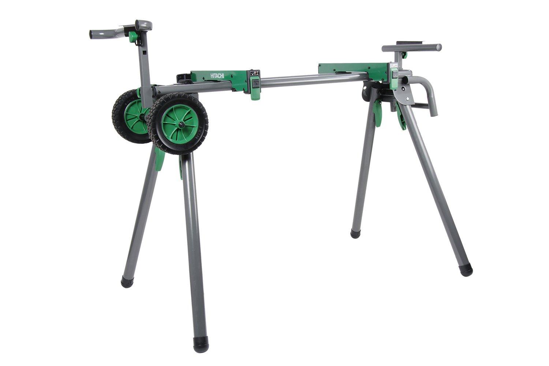 Hitachi Uu240f Heavy Duty Portable Miter Saw Stand