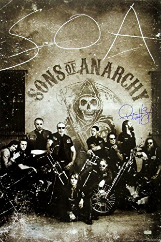 "Ryan Hurst ""Opie Winston"" Autographed/Signed Sons of Anarchy 36x24 Poster with ""Opie"" Inscription - Crew Under Logo"