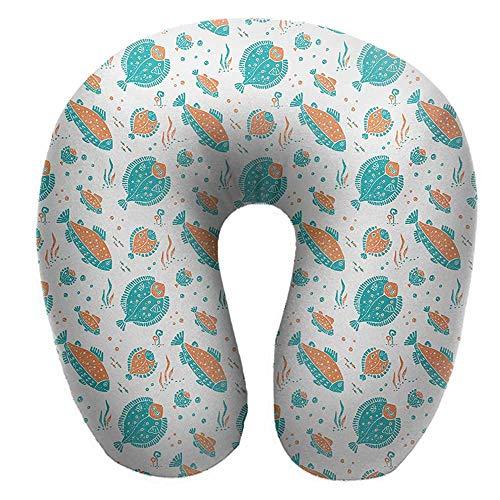 flyrio U-Shaped Neck Pillow,11.8