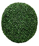 ONE 17.5'' ARTIFICIAL BOXWOOD BALL INDOOR OUTDOOR TOPIARY TREE PLANT POOL PATIO