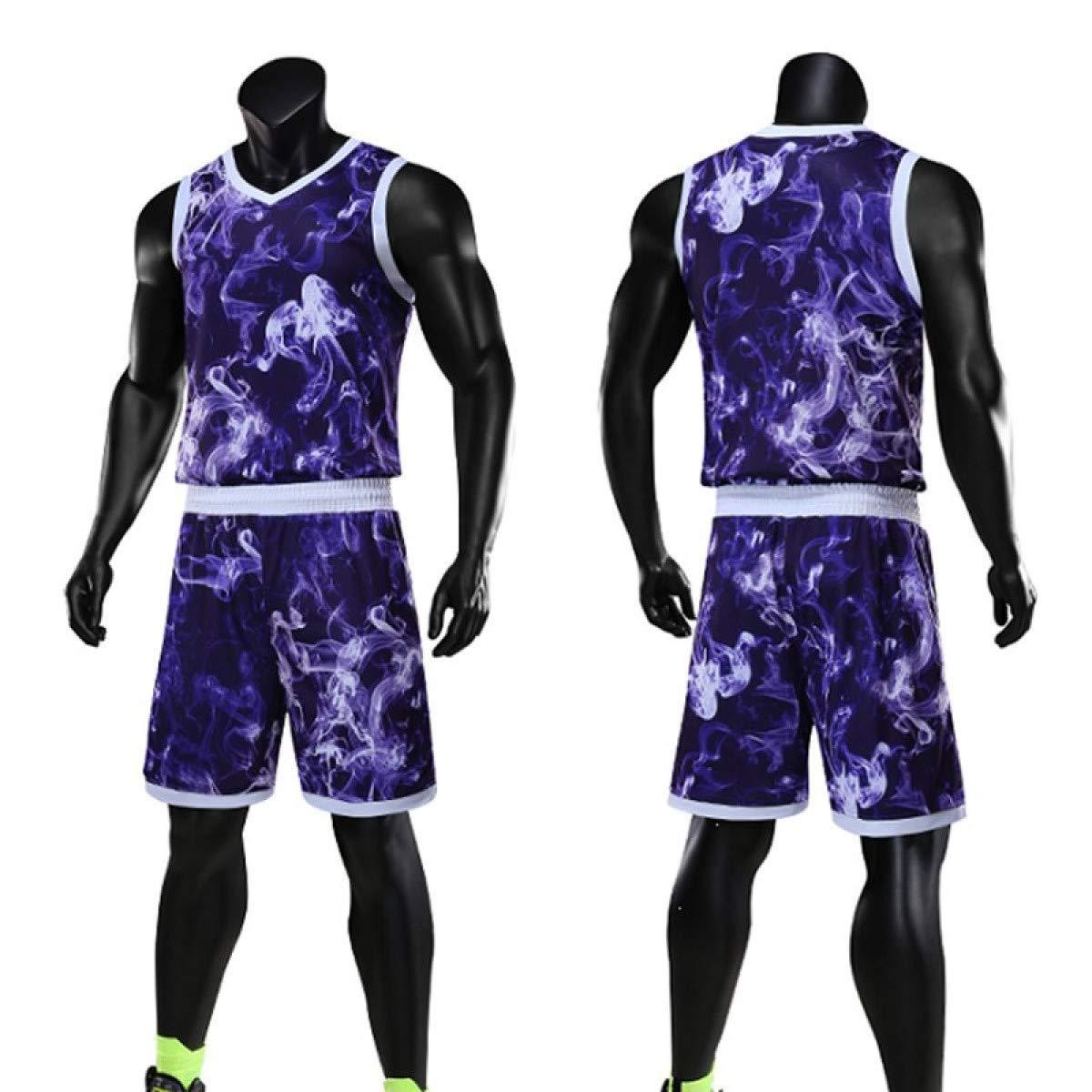 Men Basketball Jerseys Sets Basketball Uniform Basketball Shirt Sportswear