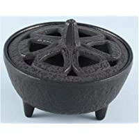 Cast Iron Lotus Shaped Incense Stick Holder
