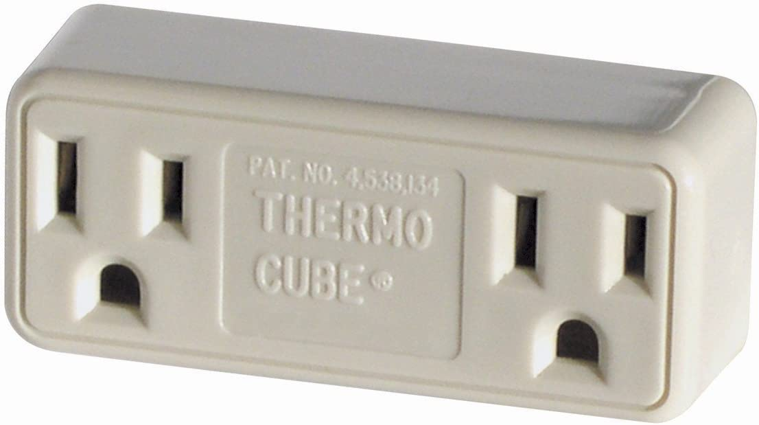 2 Pack Farm Innovators Model TC-3 Cold Weather Thermo Cube Thermostatically Controlled Outlet - On at 35-Degrees/Off at 45-Degrees