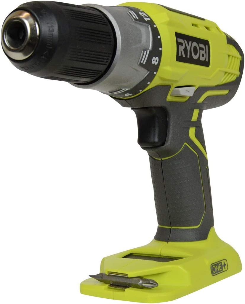 Ryobi P277 One 18 Volt Lithium Ion 1 2 Inch 2-Speed Drill Driver 18 Volt Batteries Not Included Power Tool Only ,Green,
