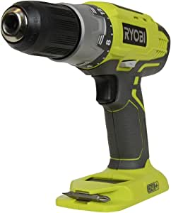 Ryobi P277 One+ 18 Volt Lithium Ion 1/2 Inch 2-Speed Drill Driver (18 Volt Batteries Not Included / Power Tool Only),Green,