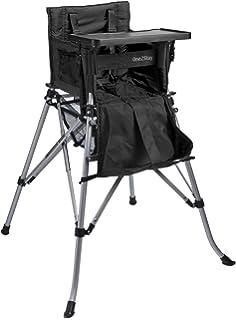 Hochstuhl blau mit Tisch faltbar mit Tragetasche,5-Punkt Gurt Kinderhochstuhl Faltstuhl Kinderstuhl
