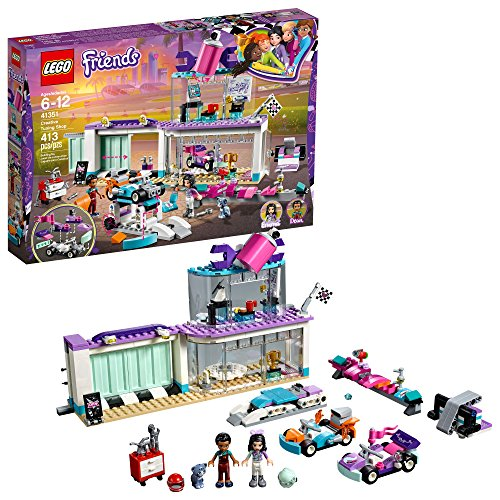 LEGO Friends Creative Tuning Shop 41351 Building Kit (413 Piece)