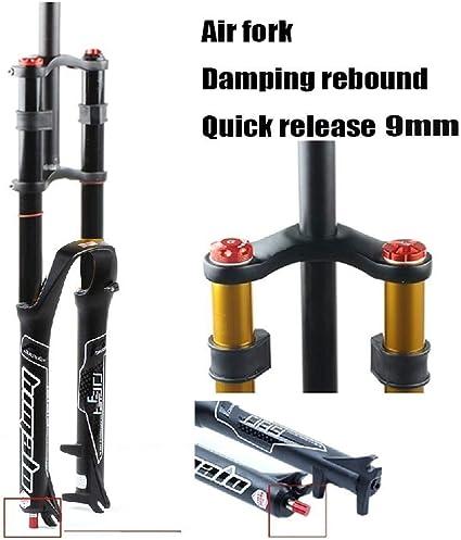 "26//27.5//29/"" Bicycle Front Forks MTB Bike Air Shock Aluminium Suspension Forks"