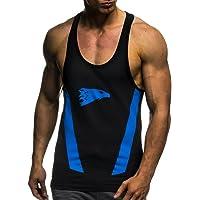 Leif Nelson Gym Hombres Fitness Stringer T-Shirt sin