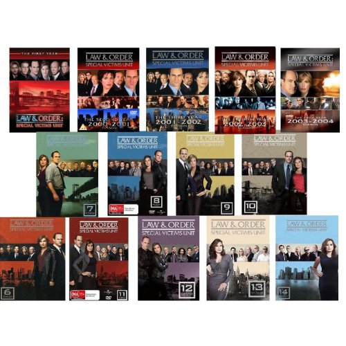 (Law & Order Special Victims Unit: Seasons 1-14 on DVD)