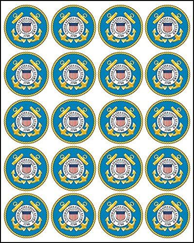United States Coast Guard Seal 20x2