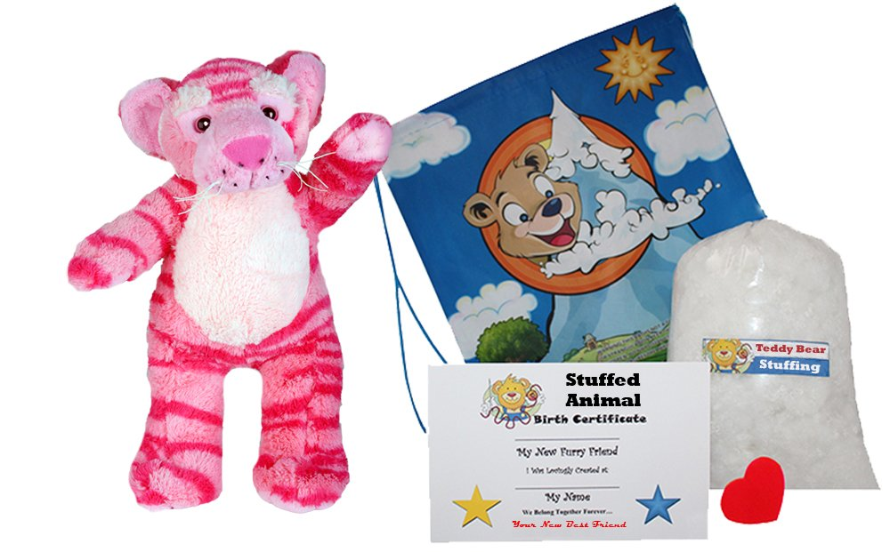 Amazon Com Make Your Own Stuffed Animal Dreams The Pink Tiger