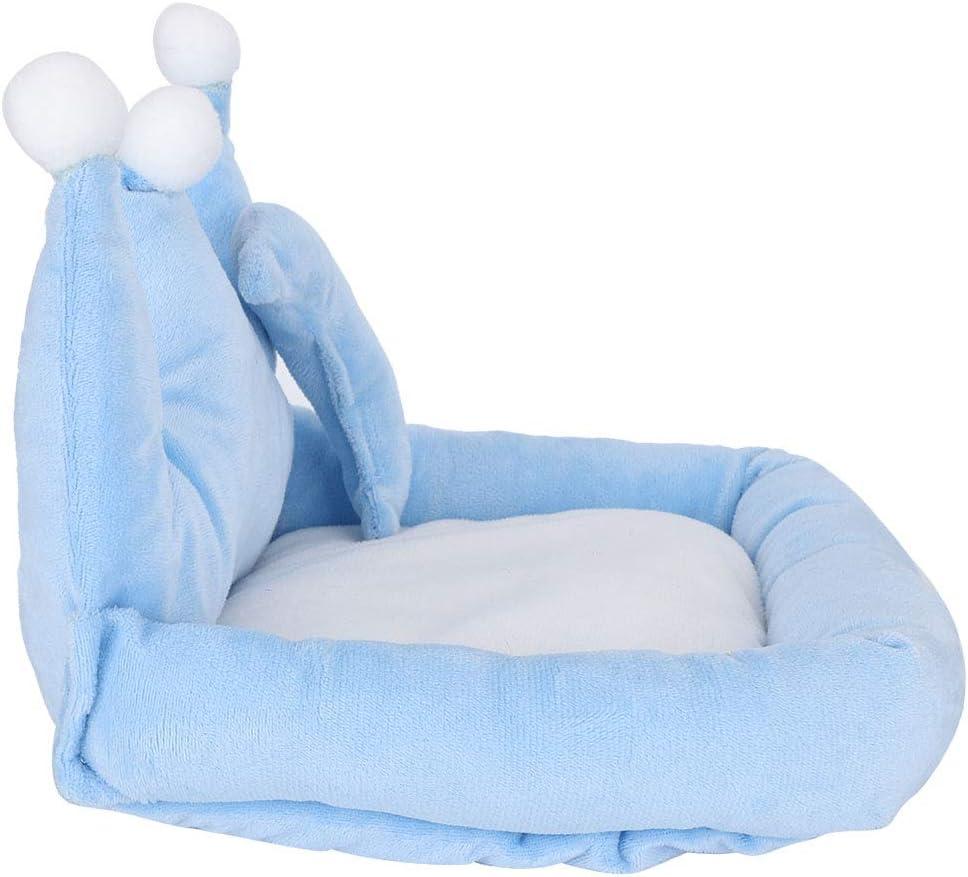 【𝐎𝐟𝐞𝐫𝐭𝐚𝐬 𝐝𝐞 𝐁𝐥𝐚𝐜𝐤 𝐅𝐫𝐢𝐝𝐚𝒚】Redxiao Cama de algodón de Felpa Mini sofá sofá Cama para hámster, sofá para Dormir para Mascotas pequeñas, Mascotas de Alta Elasticidad Azul para hámster