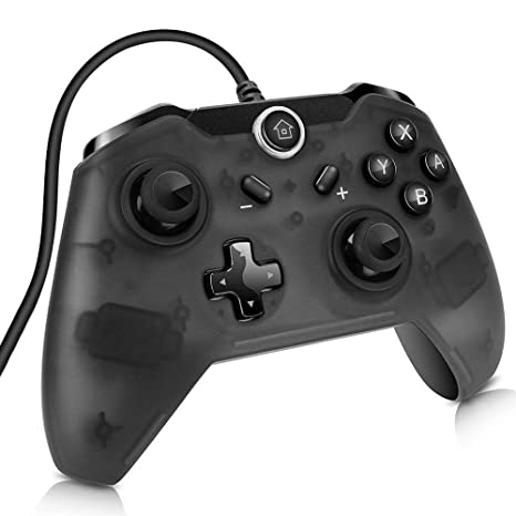 Sunjoyco USB Wired Controller for Nintendo Switch, Pro Controller Remote  Gaming Gamepad Joypad for Nintendo Switch & PC (Windows XP/7/8/10) with  7 2FT