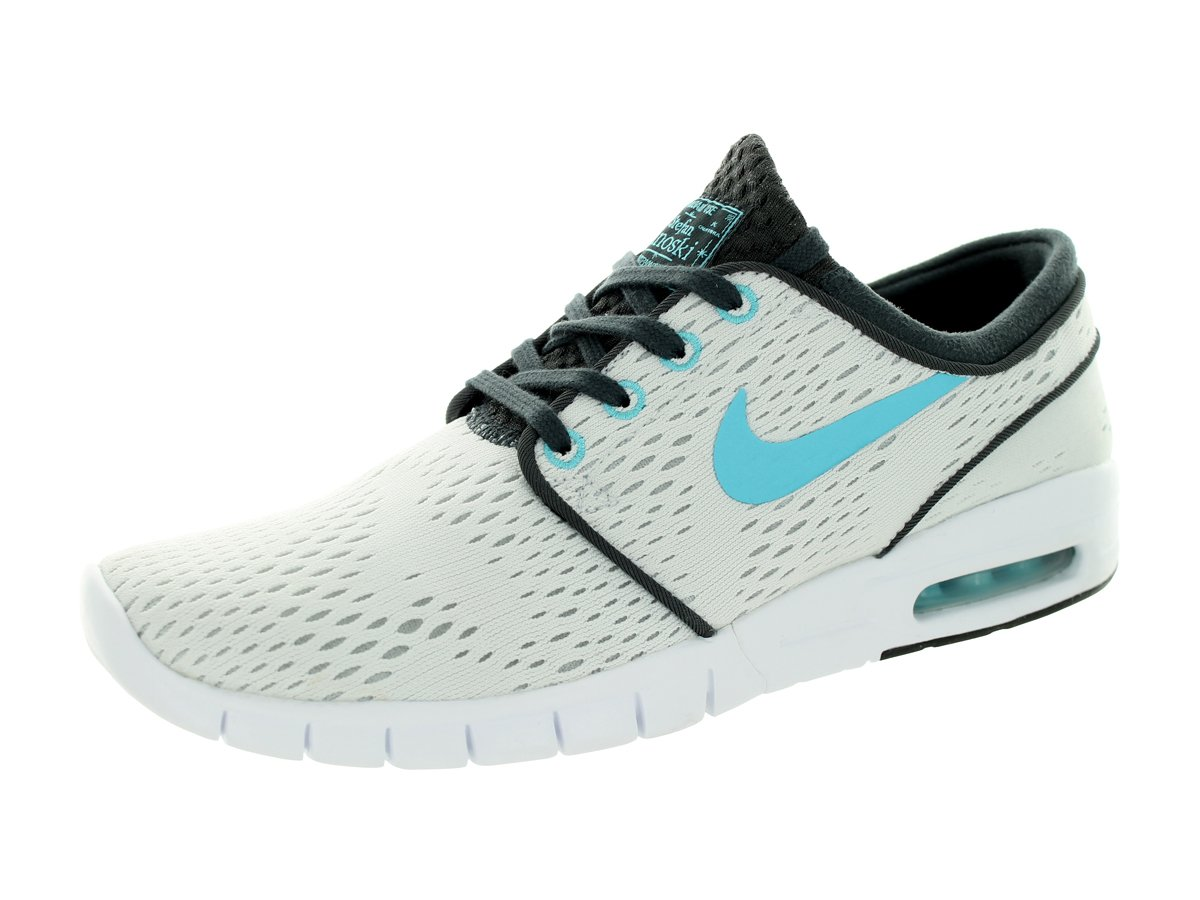 White Clearwater Anthraci Nike Stefan Janoski Max, Unisex Adults' Low-Top Sneakers