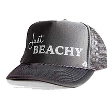 Amazon.com  Mother Trucker Mesh Back Hat - Just Beachy  Clothing 90d396f356f