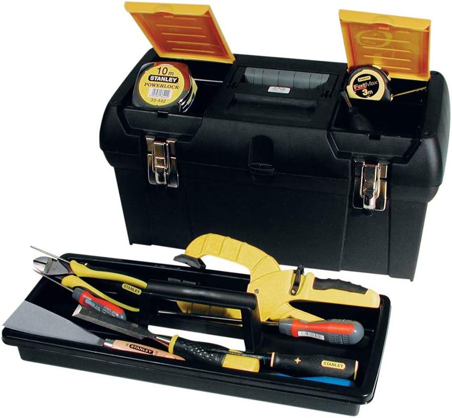 STANLEY 1-92-066 - Caja de herramientas Milenium, 48.9 x 26 x 24.8 cm: Amazon.es: Bricolaje y herramientas