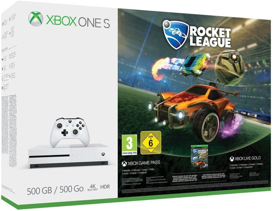 Xbox One S - Consola 500 GB + Rocket League: Amazon.es: Videojuegos