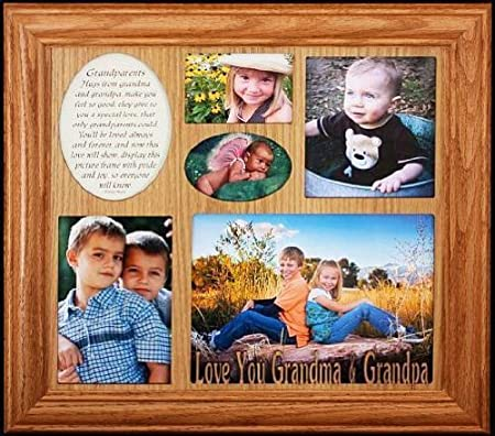 LOVE YOU GRANDMA & GRANDPA ~ Photo & Poetry COLLAGE Frame ...