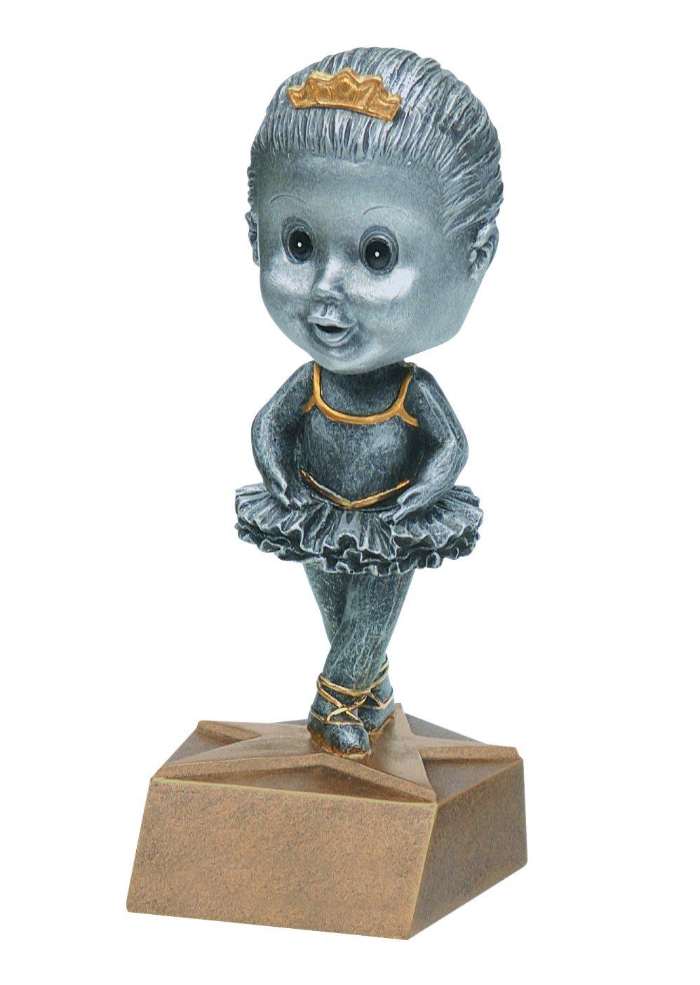 ダンスピューターBobblehead Trophy – カスタマイズNow – Personalized Engraved Plate Included & Attached to award – Perfect Awards Trophy – ハンドペイントデザイン B077JFZ8Q8