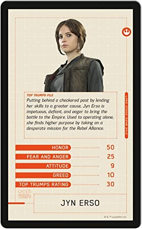 Star Wars Rebels-Top Trumps gioco di carte