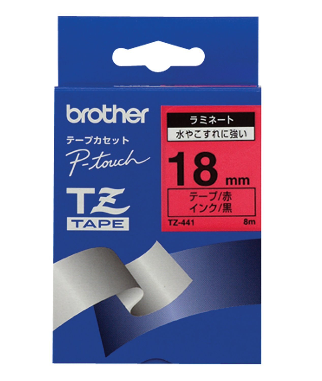 Brother TZe 441 Original Tape – Red/Black Brother International GmbH TZ441