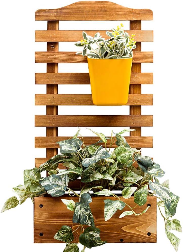 Z·Bling Macetero con Enrejado Macetero Enrejado Macetero Planta Enrejado Arco de Rosas Macetero de Madera 72 x 30 x 16 cm para Plantas trepadoras