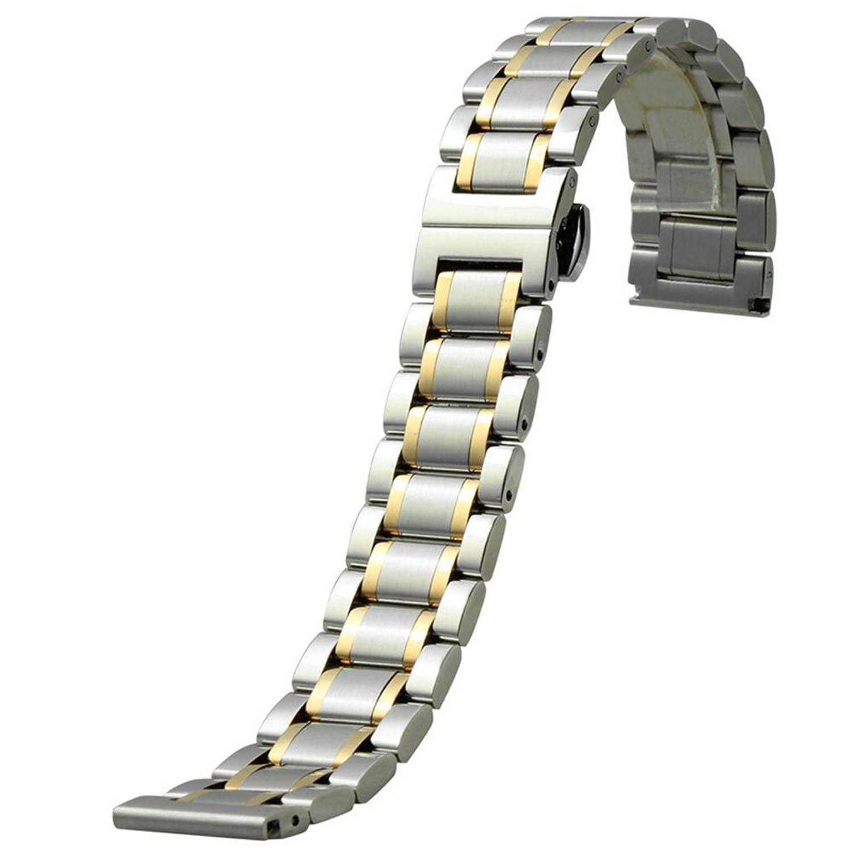 MSTRE bxg8ステンレススチールfor Longinesマスター/ Seagull / Fiyta Watches 20mm jianjin  jianjin 20mm B072M1L6P6