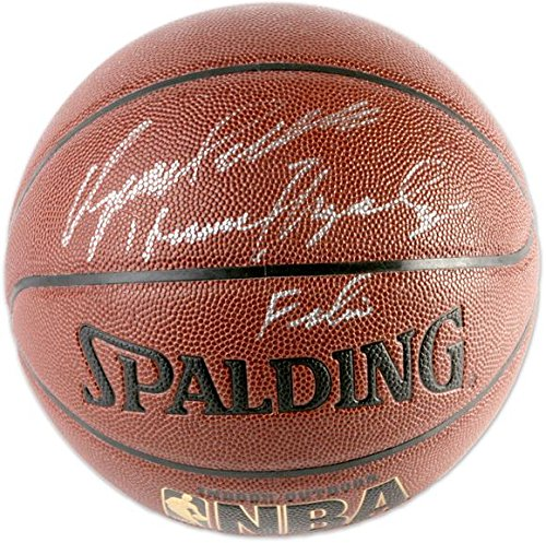 Dominique Wilkins Atlanta Hawks Autographed Basketball with