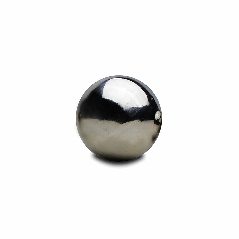 6.5cm Stainless Steel Mirror Sphere Gazing Ball Garden Ornament