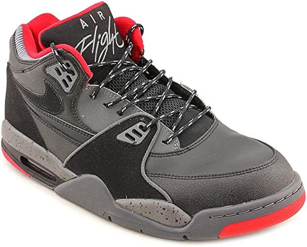 Nike Air Flight 89, Scarpe Basket Uomo Nero BlackBlack Dark